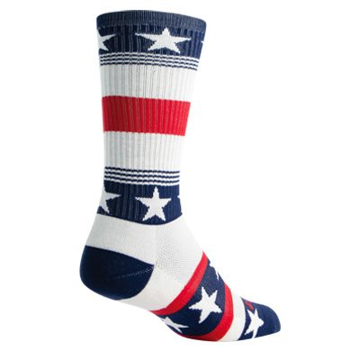 LAX Patriot socks