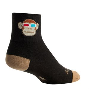 Monkey See 3D socks