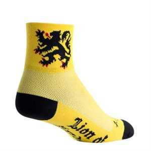 Lion of Flanders socks