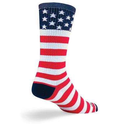 USA Flag socks