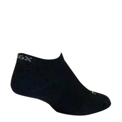 "SGX 1 / 2"" Black socks"