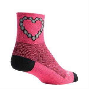 SockGuy Pink Octopus Performance Socks