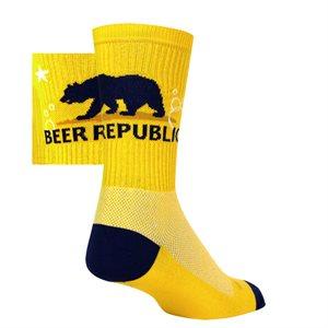 CA Beer socks
