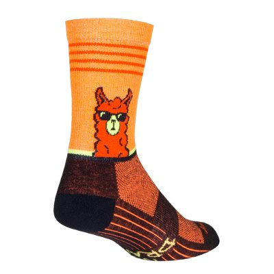 No Drama Llama socks