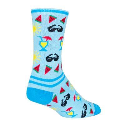 Poolside socks