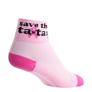 Save the Tatas Pink socks
