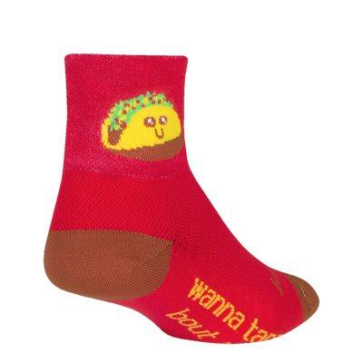 Taco Therapy socks