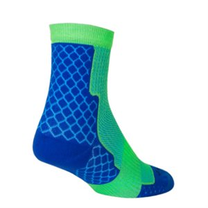 "Trailhead Royal 4"" Socks"