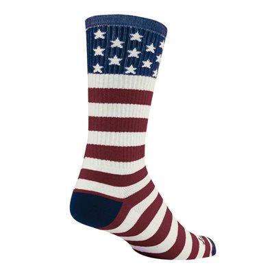 "USA FLAG 8"" Wool socks"