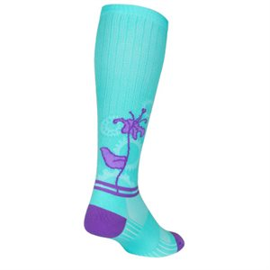 "SGX AquaLily 12"" socks"