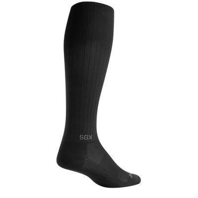"SGX 12"" Black socks"