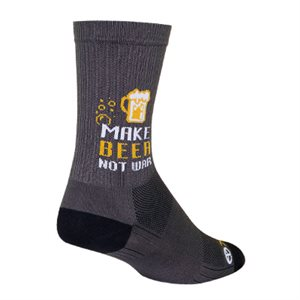 SGX Beer Not War socks
