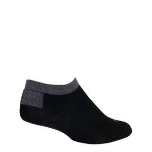 SGX Black No Show socks