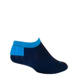 SGX Navy No Show socks