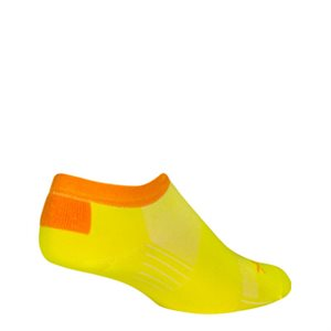 SGX Yellow No Show socks