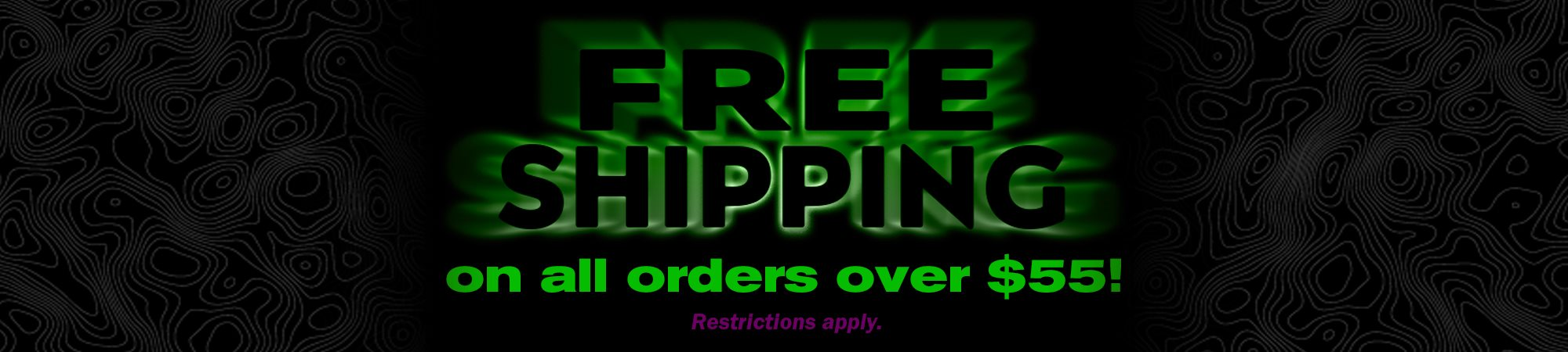 $55 and over order ship for free